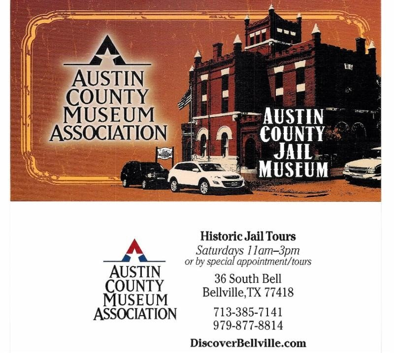 Austin County Jail Museum - Saturdays - Wallis Chamber of